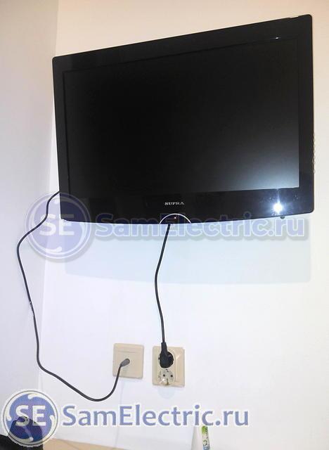 Подключение и установка ТВ розетки