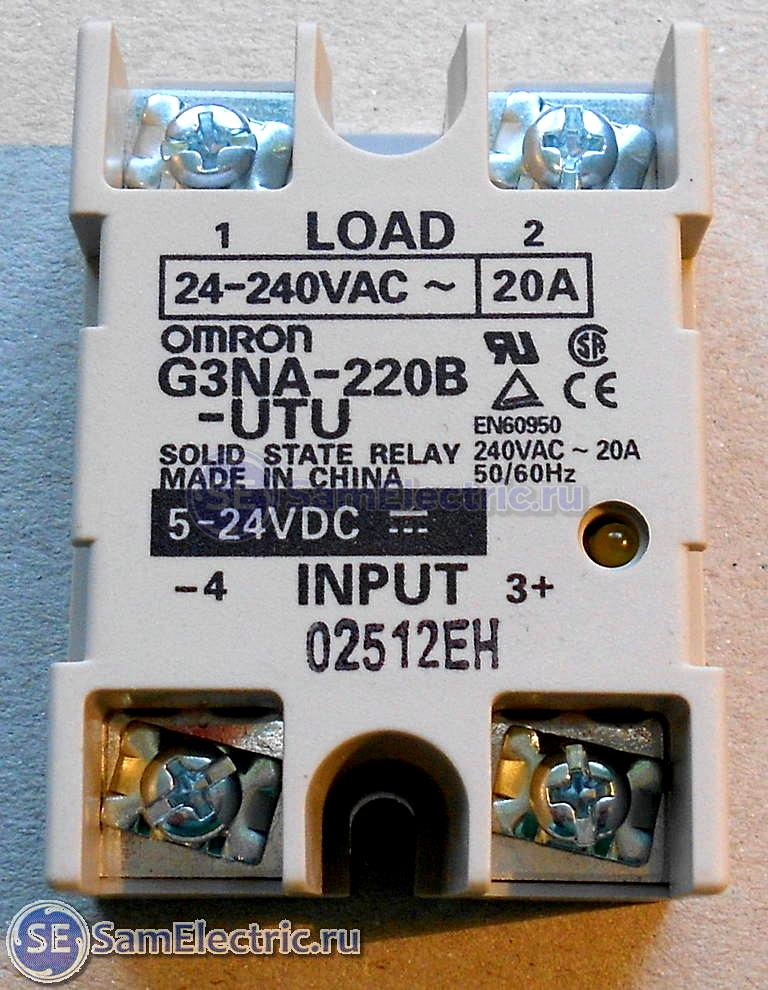 Твердотельное реле переменного тока схема фото 74