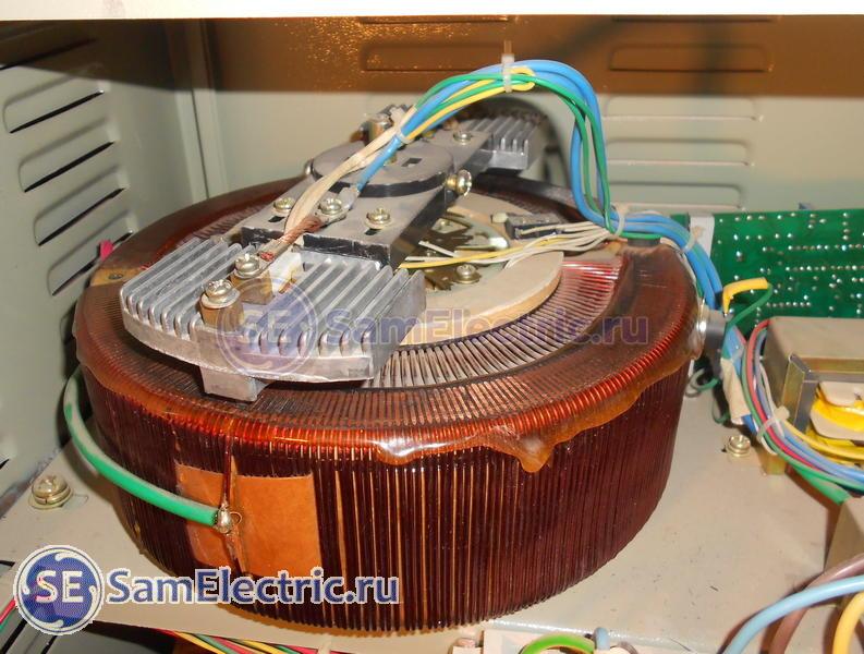 Устройство и ремонт электромеханического стабилизатора