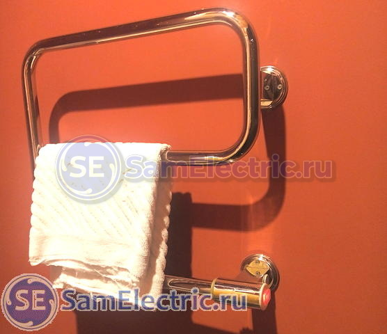 Электрический полотенцесушитель - устройство и подключение