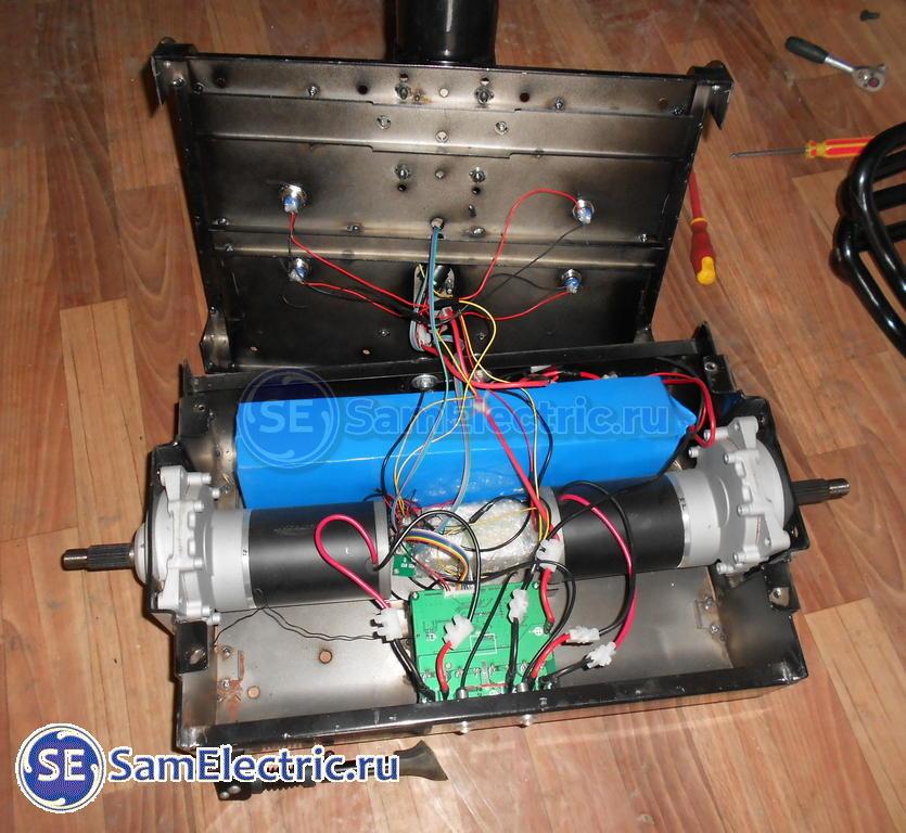 Сигвей - устройство и ремонт
