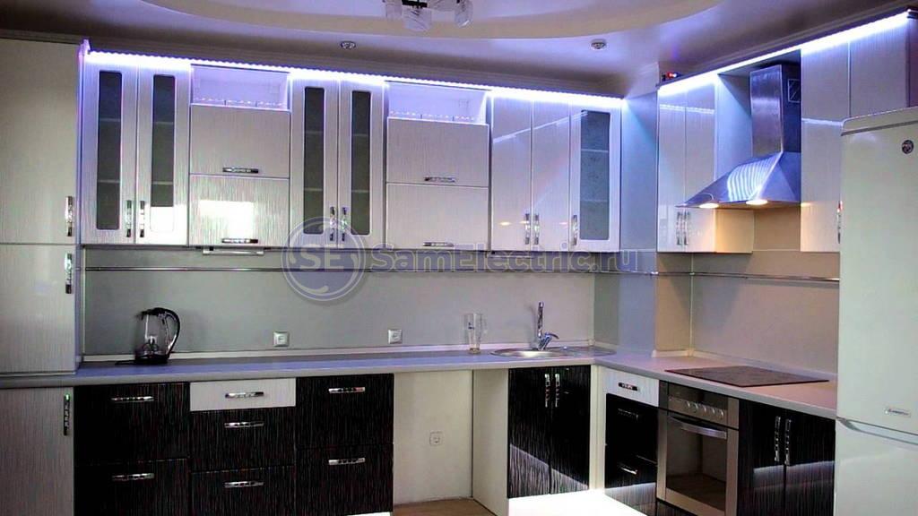 Прокладка электропроводки на кухне