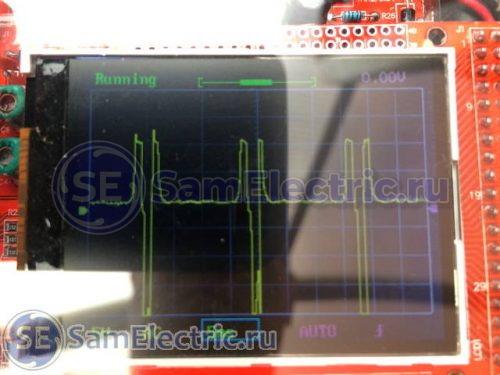 осциллограмма от электронного прерывателя