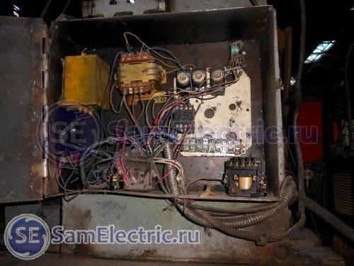 Схема электрическая пресса КД