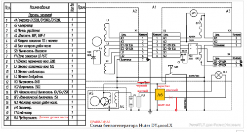 Правильная схема генератора Hyter