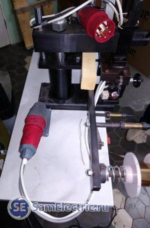 Станок для горячего тиснения с терморегулятором
