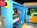 Компрессор, в который установлен РКФ ФиФ для контроля чередования фаз