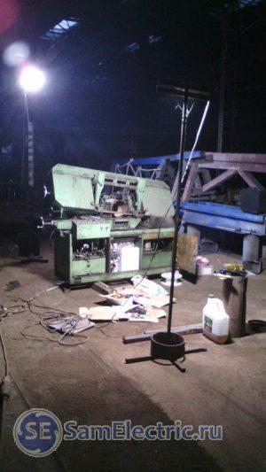 Процесс сборки станка