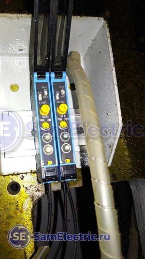 Электронные блоки - опто усилители к оптоволоконным датчикам