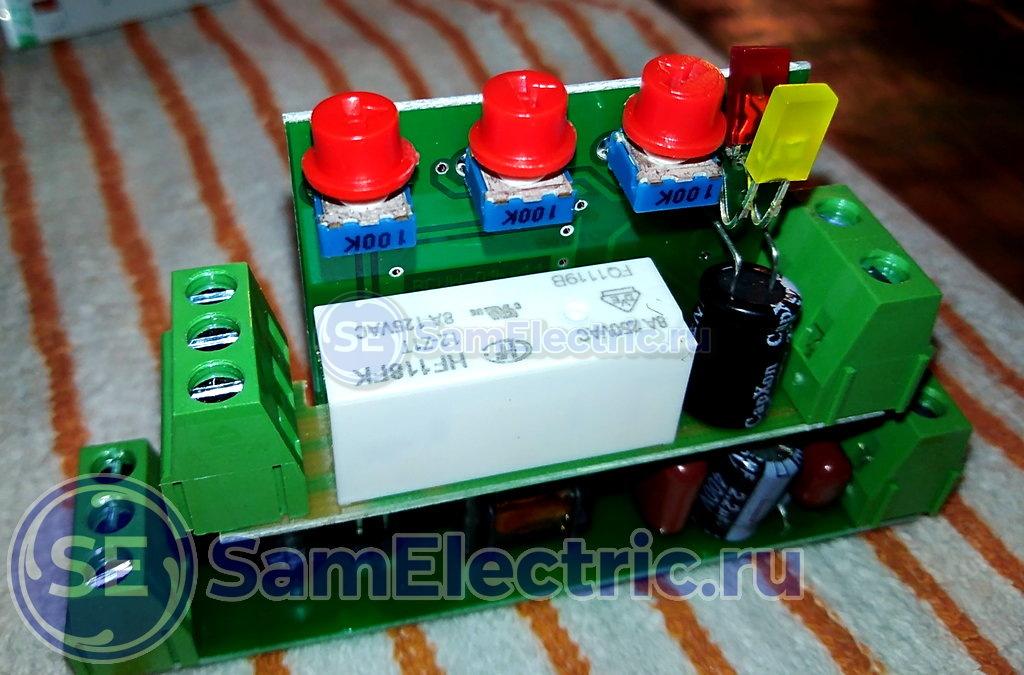 Контроллер уровня жидкости ЕвроАвтоматика ФиФ PZ-818