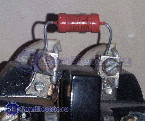 Резистор на выключателе для доработки