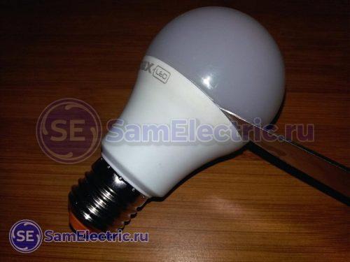 Разборка светодиодной LED лампы