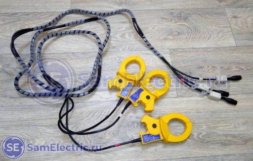 Клещи для измерения тока нагрузки