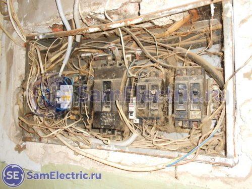 Старый электрощит