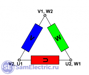 Схема треугольник