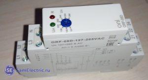 Реле контроля фаз ORF8 ONI