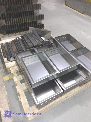 Детали металлических шкафов