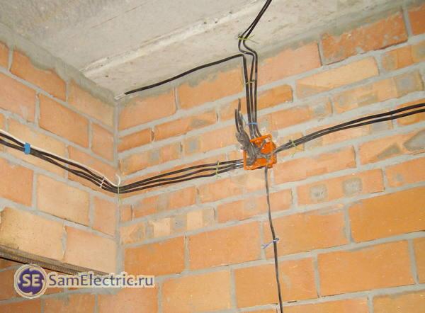 Проверка новой электропроводки в квартире
