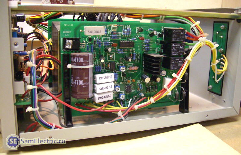 Mastech 7030 схема